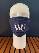 branded cotton face mask face covering