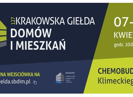 Krakowska Giełda Domów i Mieszkań 7-8 kwietnia 2018