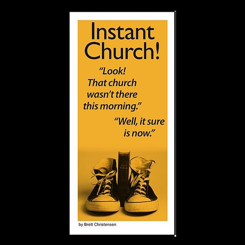 Instant Church?