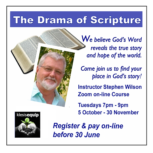 Course: The Drama of Scripture