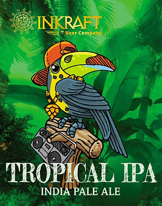 Bière INKRAFT - Tropical IPA (33 cl)