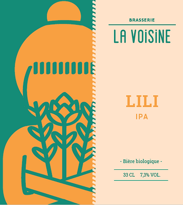 Bière LA VOISINE LILI  IPA 33cl