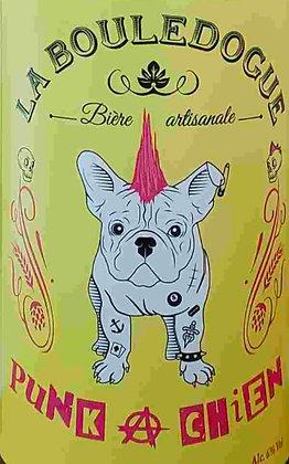 Bière LA BOULEDOGUE - PUNK À CHIEN (Stout) (33 cl)