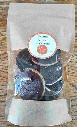 Biscuits Sarrasin Chocolat (150 g) sans gluten