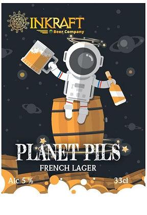 Bière INKRAFT - Planet Pils (33 cl)