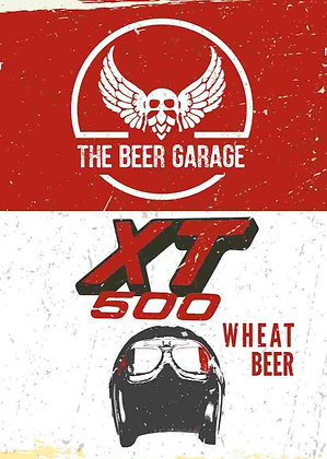 Bière THE BEER GARAGE - XT500  (33 cl)