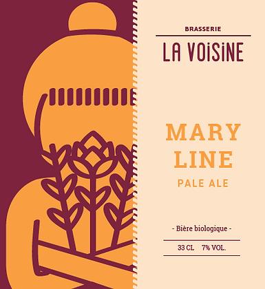 PACK - Bière LA VOISINE  (PALE ALE)  6 X 33 cl - BIO