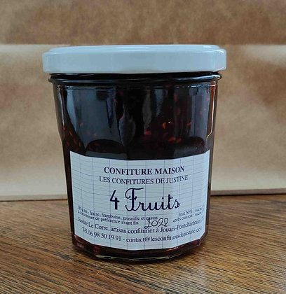 Confiture - 4 Fruits (385 g)
