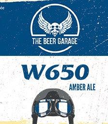 Bière THE BEER GARAGE - W650 (33 cl)