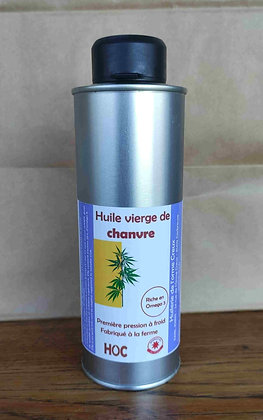 Huile vierge de chanvre (250 ml)