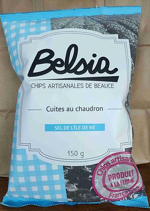 Chips  Artisanales au Sel de l'Île de Ré (150 g)