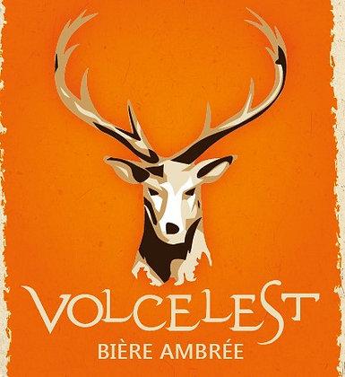 Bière VOLCELEST - AMBRÉE (33 cl - BIO)