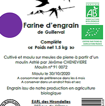 Farine de Petit Épeautre Bio (1.5 kg)