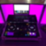 DJ Alex Finger - Technik hinter dem DJ-Pult mit DJ-Controller, Funk-DMX-Lichtsteuerung und Funkmikrofon 2