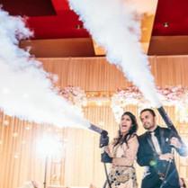 Hochzeit DJ NRW - CO2-Kanone