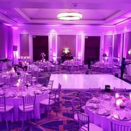 Floorspots auf einer Hochzeit Ambientepaket