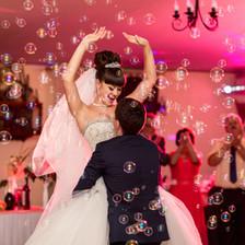 Hochzeitstanz - Seifenblasen - Hochzeits