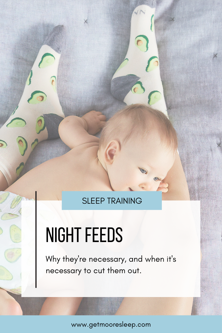 Why night feeds are necessary and when it's time to cut them out.
