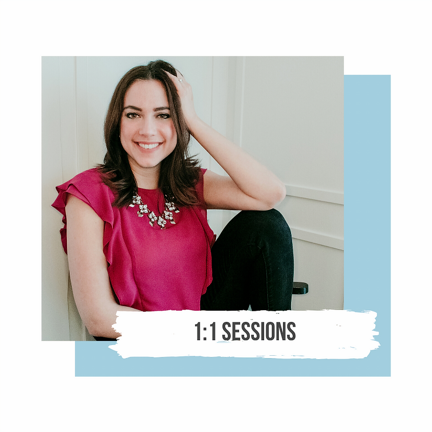 1:1 Sessions | MARCH 26