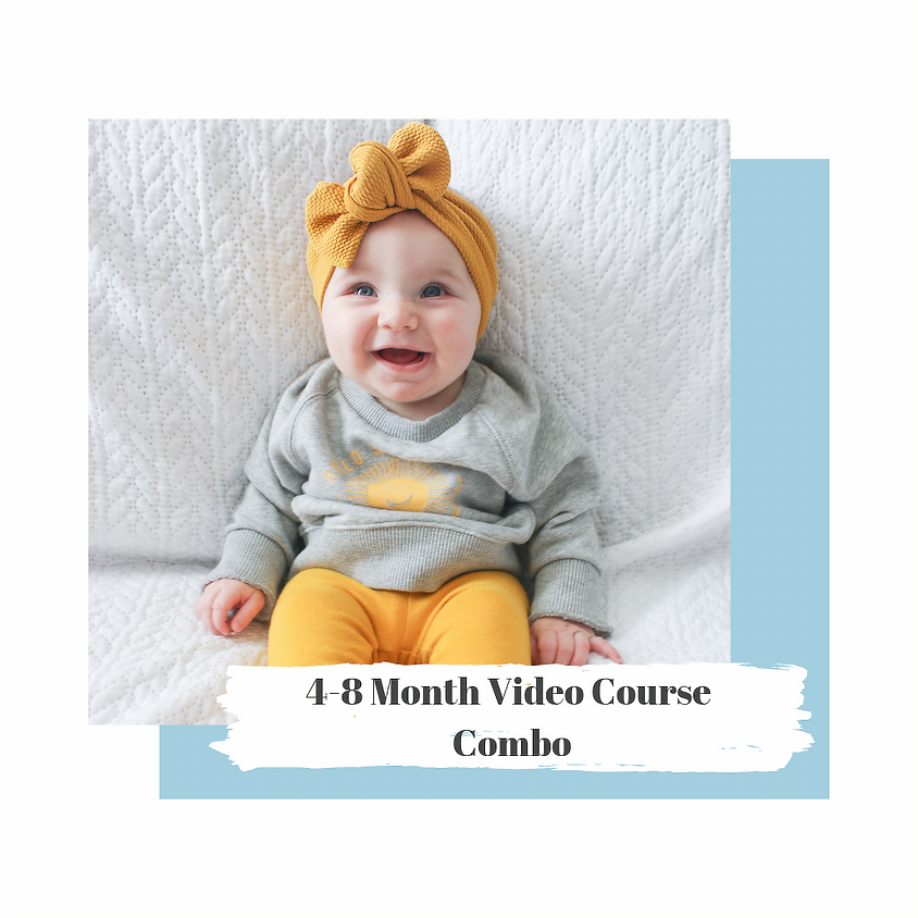 4-8 Month Video Course COMBO