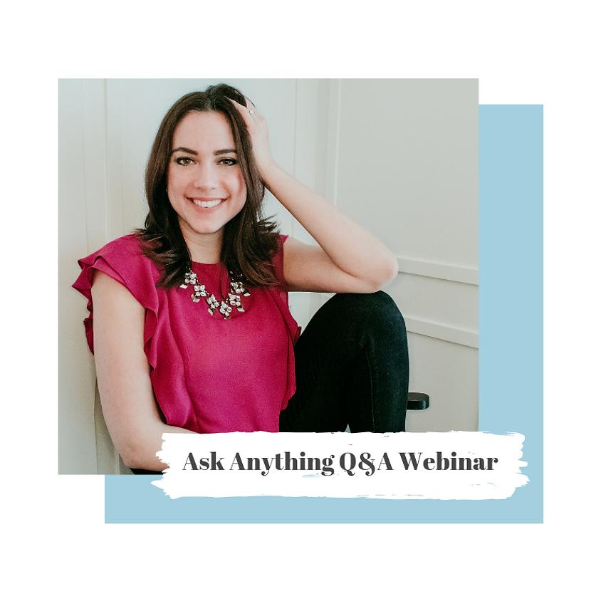 Ask Anything Webinar