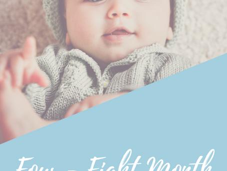 Four to Eight Month Sleep