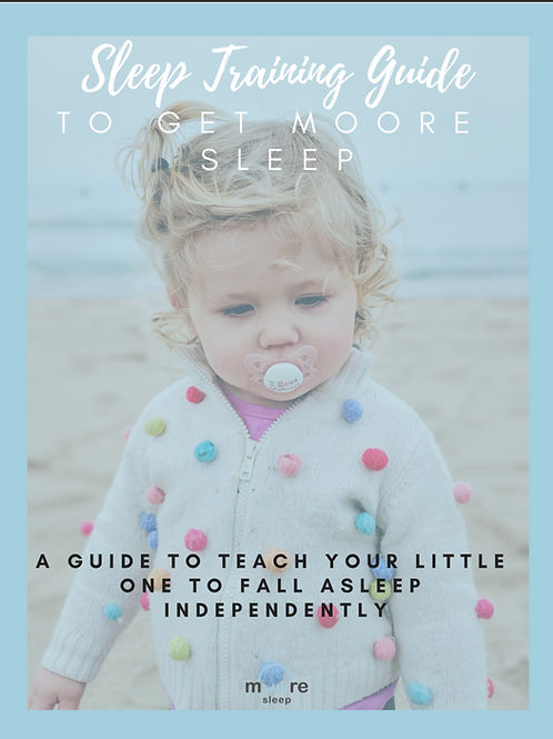 Sleep Training Guide to get Moore Sleep