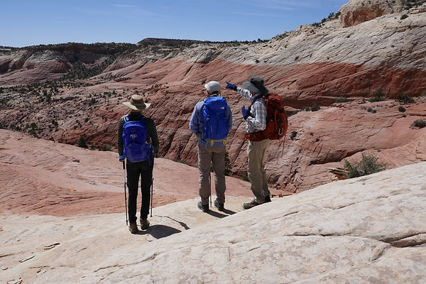 Escalante Utah canyons guided hiking
