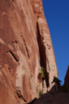 sickrock hiking, Escalante Utah