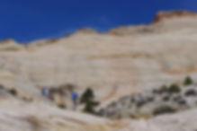 Guided hiking, Grand Staircase—Escalante National Monument, near Boulder & Escalante, Utah.