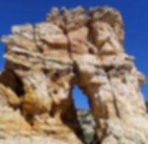 window rock, Navajo sandstone, Grand Staircase—Escalante National Monument, near Boulder & Escalante, Utah.