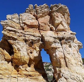 window rock, Navajo sandstone, Grand Staircase—Escalante National Monument, near Boulder & Escalante, Utah.