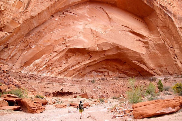 canyon-country hiking, Grand Staircase—Escalante National Monument, near Boulder & Escalante, Utah.