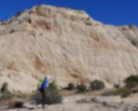 Slickrock hiking, Grand Staircase—Escalante National Monument, near Boulder & Escalante, Utah.