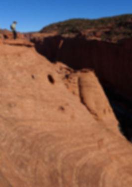 Escalante Utah canyons guided hiking