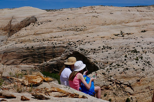 Utah hiking, canyon hiking, slickrock hiking, Grand Staircase—Escalante National Monument, near Boulder & Escalante, Utah, Covid-19 hiking, coronavirus hiking, Covid-19 outdoors, coronavirus outdoors, Covid-19 safe activity, coronavirus safe activity, Covid-19 recreation, coronavirus recreation, Covid-19 exercise, coronavirus exercise