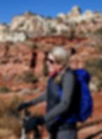 Denice Campbell, hiking guide, Utah