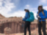 Craig Copeland, Kathy Copeland, hiking guides, Utah canyon country, www.UtahSlickrockGuides.com