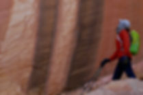 Utah canyons guided hiking