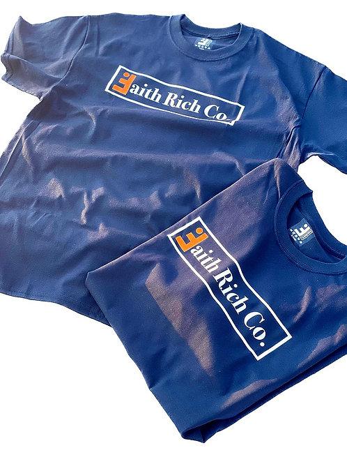 Navy Color Rush Crewneck T-Shirt