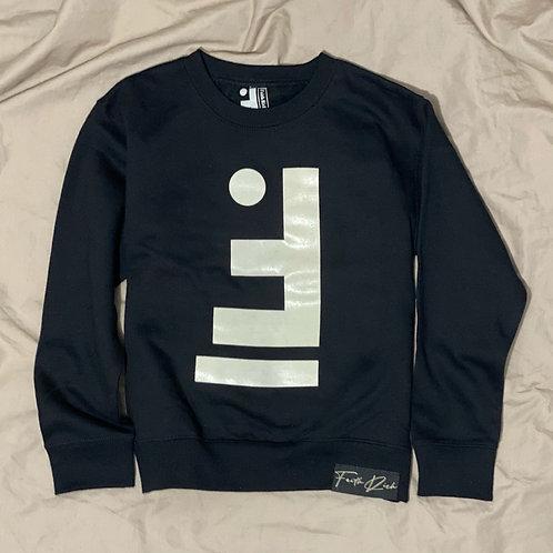 Youth Oatmeal Full Faith Crewneck Sweater