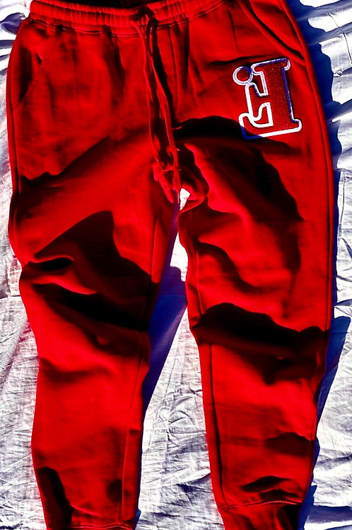 Adult Cherry Ghost Chenille Joggers