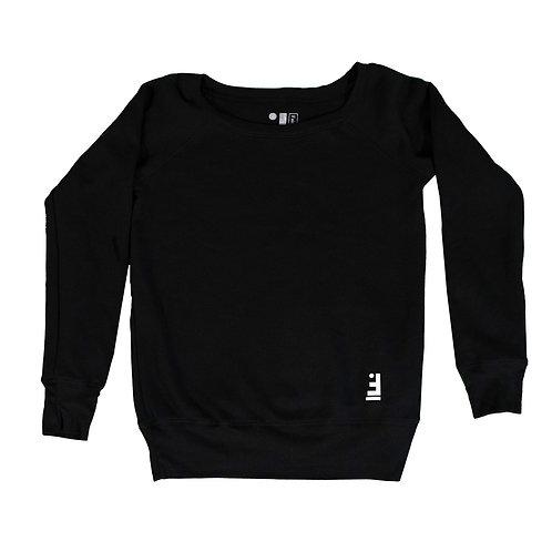 Ladies Faith Lifestyle Wideneck Sweater