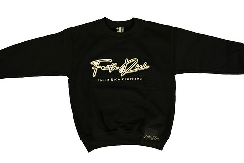 Youth Double Up The Faith Crewneck Sweater