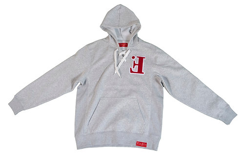 Adult Cherry Silver Ghost Chenille Hoodie