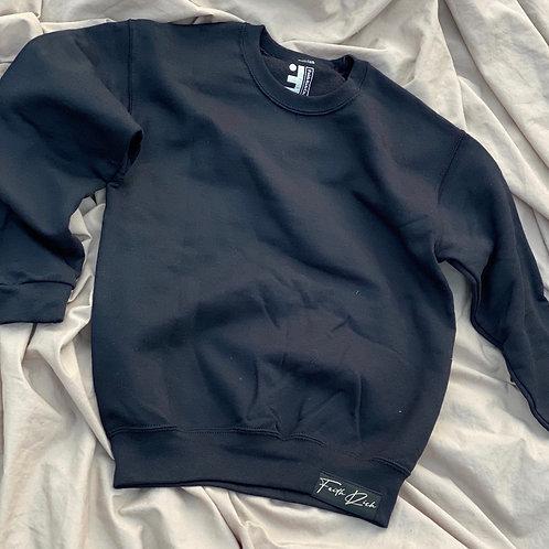 Toddler Full Faith Crewneck Sweater