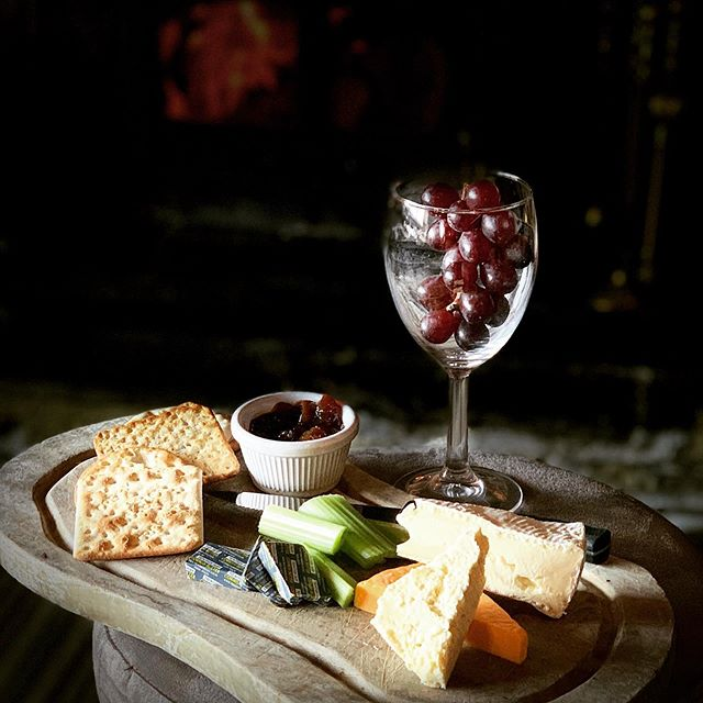 Cheese and wine night this evening from