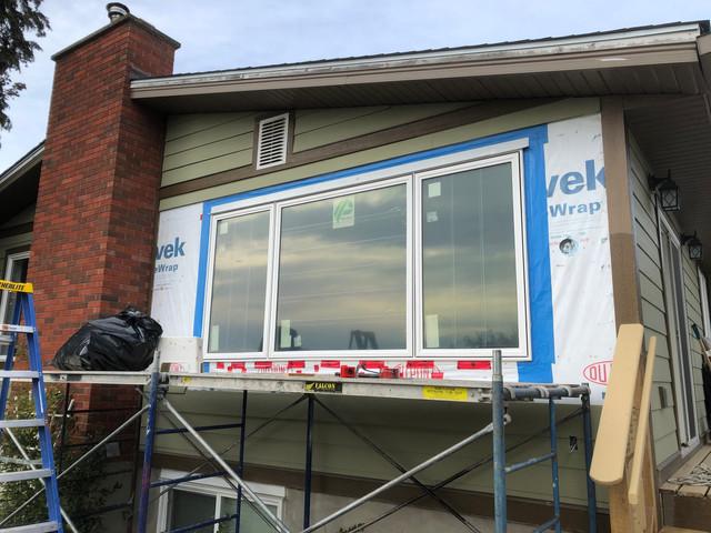 Window Renovation In Progress