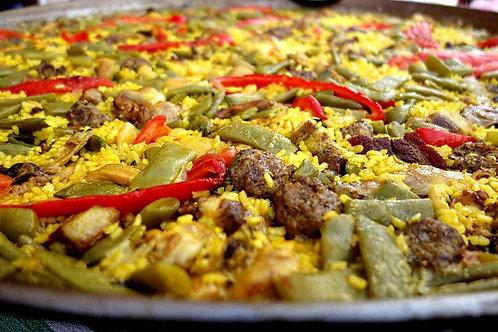 Paella Carnes