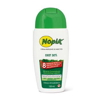 3X Repelente crema NOPIK 30% DEET 120ml